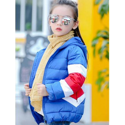 Kids Hooded Color Block Puffer CoatGirls Clothing<br>Kids Hooded Color Block Puffer Coat<br><br>Clothes Type: Padded<br>Material: Polyester<br>Type: Wide-waisted<br>Clothing Length: Regular<br>Sleeve Length: Full<br>Collar: Hooded<br>Pattern Type: Others<br>Embellishment: Pattern<br>Style: Fashion<br>Weight: 0.465kg<br>Package Contents: 1 x Coat