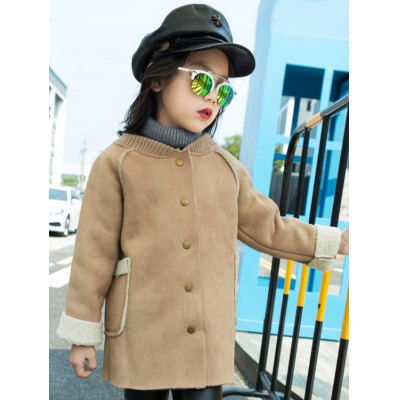Shearling TrimStand Collar Faux Suede CoatGirls Clothing<br>Shearling TrimStand Collar Faux Suede Coat<br><br>Clothes Type: Leather &amp; Suede<br>Material: Polyester<br>Type: Slim<br>Clothing Length: Regular<br>Sleeve Length: Full<br>Collar: Stand-Up Collar<br>Closure Type: Single Breasted<br>Pattern Type: Solid<br>Embellishment: Fur<br>Style: Fashion<br>Weight: 0.333kg<br>Package Contents: 1 x Coat