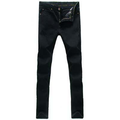 Pocket Rivet Dark Wash Jeans