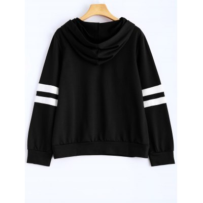 Hooded Striped SweatshirtSweatshirts &amp; Hoodies<br>Hooded Striped Sweatshirt<br><br>Material: Cotton Blend<br>Package Contents: 1 x Hoodie<br>Pattern Style: Striped<br>Season: Fall<br>Shirt Length: Regular<br>Sleeve Length: Full<br>Style: Casual<br>Weight: 0.334kg