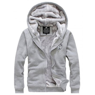 Applique Zip Up Flocking Hoodie and Pants TwinsetMens Hoodies &amp; Sweatshirts<br>Applique Zip Up Flocking Hoodie and Pants Twinset<br><br>Material: Cotton, Polyester<br>Package Contents: 1 x Hoodie  1 x Pants<br>Shirt Length: Regular<br>Sleeve Length: Full<br>Style: Fashion<br>Weight: 1.6000kg