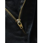 Pocket Rivet Zipper Fly Dark Wash Jeans for sale