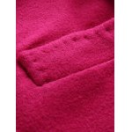 best Wool Blend Cocoon Coat With Pocket