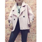 High Low Oversized Woolon Coat