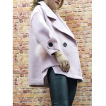 High Low Oversized Woolon Coat deal