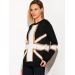Distressed Flag Graphic Sweater deal