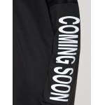 Drawstring Coming Soon Graphic Hoodie photo
