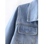 Bird Embroidery Jeans Jacket deal