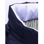 Zip Up Striped Hooded Padded Jacket deal