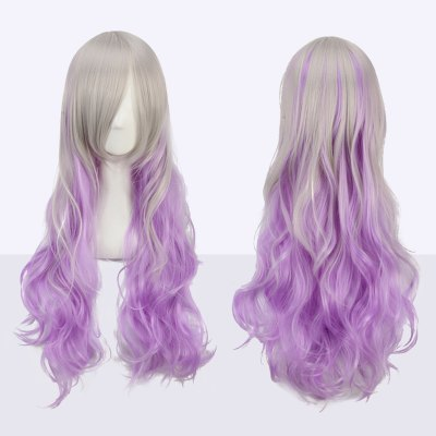 Long Side Bang Wavy Fairy Cosplay Synthetic Wig