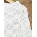 best Asymmetrical Fringed Poncho Sweater