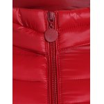 Plus Size Double Pocket Quilted Jacket deal