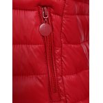 best Plus Size Double Pocket Quilted Jacket