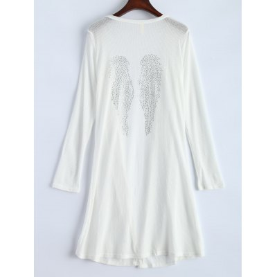 Open Front Long Duster Cardigan
