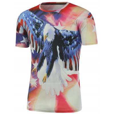 Eagle 3D Printed Short Sleeve Tee