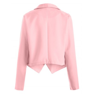 Fitted Open Front Blazer
