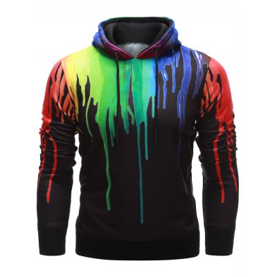 Paint Dripping Hoodie