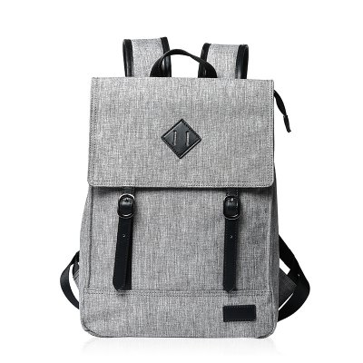 Colour Block Double Buckle Backpack