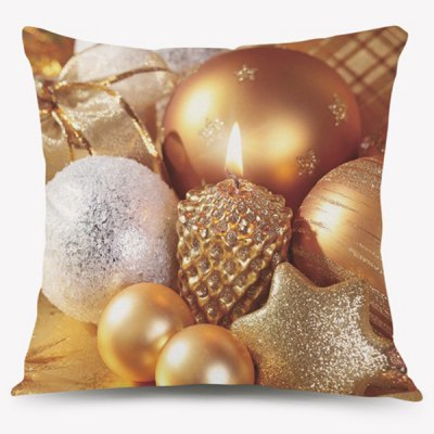 Merry Christmas Cartoon Home Decorative Pillow Case