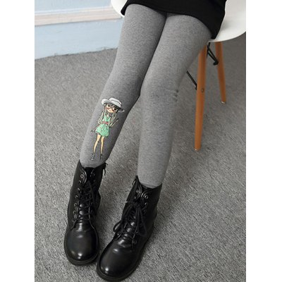 Figure Printed Warm LeggingsGirls Clothing<br>Figure Printed Warm Leggings<br><br>Style: Casual<br>Material: Polyester<br>Waist Type: Mid<br>Pattern Type: Figure<br>Weight: 0.181kg<br>Package Contents: 1 x Leggings