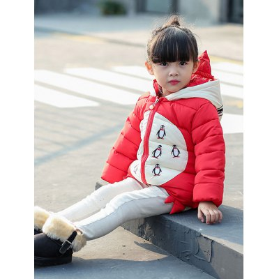 Cartoon Hooded Padded JacketGirls Clothing<br>Cartoon Hooded Padded Jacket<br><br>Clothes Type: Padded<br>Material: Cotton,Polyester<br>Type: Wide-waisted<br>Clothing Length: Regular<br>Sleeve Length: Full<br>Collar: Hooded<br>Closure Type: Zipper<br>Pattern Type: Character<br>Embellishment: Zippers<br>Style: Casual<br>Weight: 0.446kg<br>Package Contents: 1 x Coat