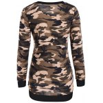 cheap Camouflage Pattern Sweatshirt