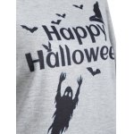 Happy Halloween Print Sweatshirt for sale