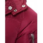 Hooded Lengthen Thicken Quilted Coat deal