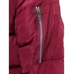 Hooded Lengthen Thicken Quilted Coat for sale