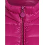 Plus Size Zip Up Quilted Waistcoat deal