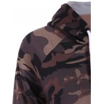 Pullover Camo Print Hoodie deal