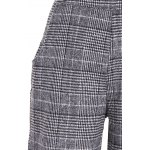 Plus Size Houndstooth Check Overalls for sale