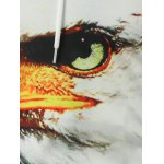 Firework Eagle 3D Printed Pullover Hoodie deal