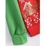 Christmas Patterned Sweatshirt for sale