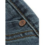 Tapered Fit Zip Fly Mid Waisted Jeans for sale