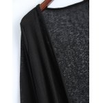 Open Front Long Duster Cardigan deal