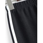 Plus Size Stretchy Striped Jogger Pants deal