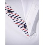 Chest Pocket Pinstriped Insert Polo T-Shirt deal