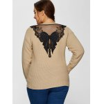 Plus Size Embellished Sweater for sale