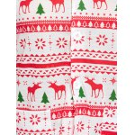 best Deer Print Christmas Pajamas Set