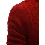 best Half Zip Up Cable Knit Pullover Sweater