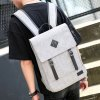 cheap Splicing Colour Block Double Buckle Backpack