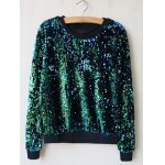 Sequins Pullover Sweatshirt deal