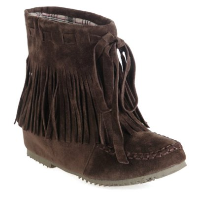 Increased Internal Ankle Boots