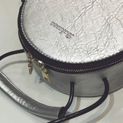 Textured PU Leather Tassel Canteen Bag