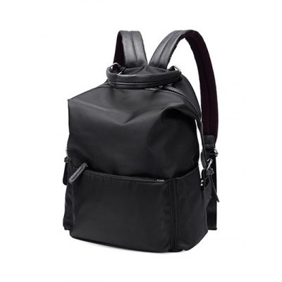 Zippers Double Buckle Splicing BackpackWomens Bags<br>Zippers Double Buckle Splicing Backpack<br><br>Handbag Type: Backpack<br>Style: Casual<br>Gender: For Women<br>Pattern Type: Solid<br>Handbag Size: Medium(30-50cm)<br>Closure Type: Zipper<br>Interior: Cell Phone Pocket<br>Occasion: Versatile<br>Main Material: Nylon<br>Hardness: Soft<br>Weight: 1.2000kg<br>Size(CM)(L*W*H): 27*14*38<br>Strap Length: Short:8CM, Long:60-90CM (Adjustable)<br>Package Contents: 1 x Backpack