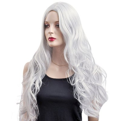 Long Wavy Centre Parting Synthetic Wig