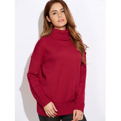 Relaxed Turtleneck Sweater