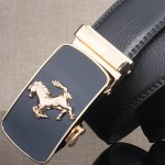 Stylish Horse Shape Emboss Automatic Buckle Wide Belt deal