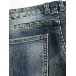 Slim Fit Zip Fly Low Waisted Distressed Jeans deal